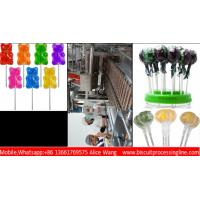 Wholesale A to Z Lollipop Production Line Process Machine Custom Boni Bear Hear Mikey Rose Shaped 150kg/H 300kg/H from china suppliers