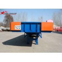 Wholesale 2 Axles Extendable Lowboy Trailer 16T FUWA Type WX245 Bath Tub Trailer from china suppliers