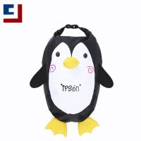 China Fashion cute penguin printing lightweight waterproof backpack for kids for sale