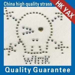 Wholesale china hotfix pattern factory;high quality skull design hot fix pattern;fashion design pattern hotfix from china suppliers