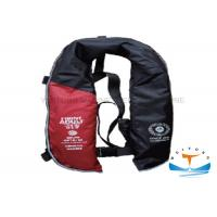 China 275N Automatic Life Jacket , Inflatable Life Preserver With Double Air Chamber on sale