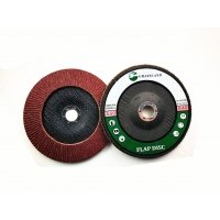 Wholesale Aluminium Oxide Fibre Backed P40 180x22mm Conical Flap Disc from china suppliers