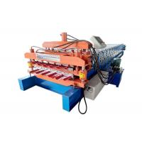 China Hydraulic Auto Color Steel Roll Forming Machine , Roof Panel Roll Forming Machine on sale