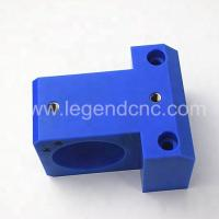 Blue CNC Milling Components , Nylon Parts Custom CNC Milling for sale