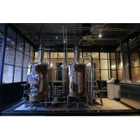 Wholesale 380V 50Hz Three Phase Micro Beer Brewing Equipment Pickling Passivation Inner Surface from china suppliers