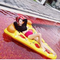 The Pizza swimming ring inflatable Quality PVC  float pool float Brand New
