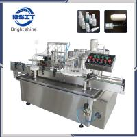 Wholesale Ceramic Pump Spray Bottle Liquid Oil Filling Plunger Sealing Capping Machine from china suppliers