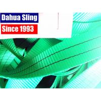 Wholesale 2 Ton Green Polyester Sling Webbing For Heavy Duty Lifting 100ft / roll from china suppliers