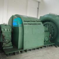 Wide Head Height Francis Turbine Generator In Hydro Power Plant High Specific Speed for sale