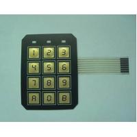 Electrical PC / PVC Waterproof Membrane Switch With 3M9448 / LES300 Adhesive