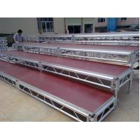 Lightweight Movable Aluminum Portable Staging Systems Safety With Wheels