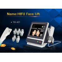 Best 5 Handle Treatment HIFU High Intensity Focused Ultrasound Machine for Wrinkle Removal wholesale