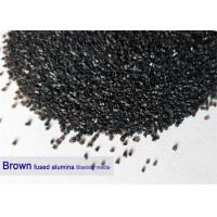 China Brown 120 Grit Aluminium Oxide Blasting Media 12# - 220# Al2O3 95% Purity High Hardness for sale