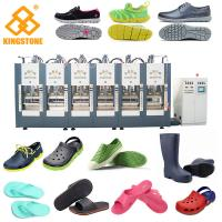 Wholesale Automatic Two Stations EVA Slipper Making Machine for Men Women Kids foaming Sandals, boots, shoes from china suppliers