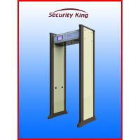 6 Zones Waterproof  Walk Through Metal Detector with Directional Counter Bilingual System