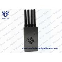 Wholesale High Integration Mobile Phone Signal Jammer , Jammer Signal Blocker With Carry Case from china suppliers