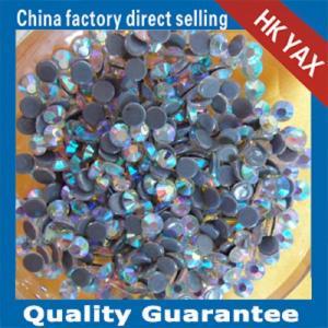 Wholesale YAX swainstone high quality rhinestone crystal AB color 3mmSS10 highest quality hotfix rhinestone from china suppliers