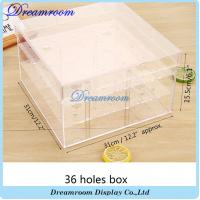 Wholesale Wholesale Acrylic Square Flower Box Luxury Flower Packaging Box from china suppliers
