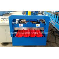 5.5Kw Metal Roofing Sheet Roll Forming Machine Electric Control Standing Seam