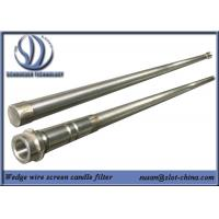 Buy cheap Stainless Steel Slot Tube Slot Tube Candle Filter With End Fittings from wholesalers
