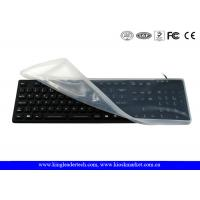 Buy cheap Full Keys Waterproof Keyboard with Removable Silicone Protecting Cover from wholesalers