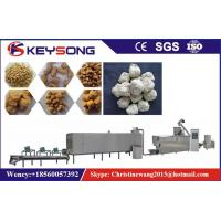 Wholesale Output 100 - 150kg / H  Soya Meat Making Machine 70kw Low Energy Consumption from china suppliers