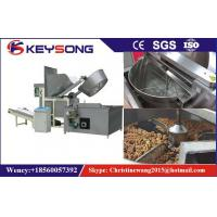 Wholesale Oil - Water Mixed Snacks Frying Machine , Full Automatic Potato Chips Frying Machine from china suppliers