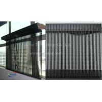 Wholesale Transparent p31.25 outdoor mesh led screen pixel 31.25mm led curtain display video wall from china suppliers