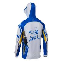 China Anti UV Breathable Outdoor Fishing Clothing Hooded Fishing Jersey Multi Purpose for sale