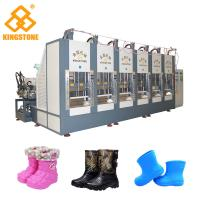 Wholesale Two Stations EVA Rain Boot Making Machine With PLC Touch Screen System from china suppliers