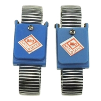 Wholesale PVC PU Coil 0.1s Static Dissipative ESD Wrist Strap from china suppliers