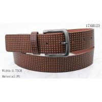 Wholesale Old Silver Buckle Mens Casual Belts Special Embossed Patterns Available from china suppliers