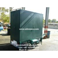 Mobile Insulation Oil Purifier/ Oil Decolorization/Oil Purification and Filtration Machine for sale