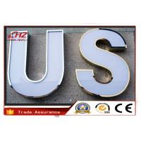 China RGB LED Box Stainless Steel Channel Letters / Illuminated Channel Letter Signs on sale