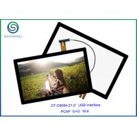Wholesale ITO Glass + Cover Lens Industrial Monitor Touch Screen , Surface Hardness Above 6H from china suppliers