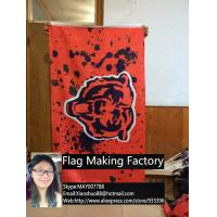 China Free shipping NFL 3'x5' Chicago Bears flag, 90x150cm Chicago Bears rugby football banners on sale