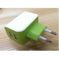 China European Plug Multi USB Travel Charger 3.1A Dual USB Port For IPhone / Galaxy on sale