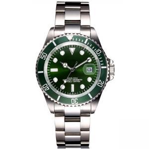 Best OEM luxury men's stainless steel watches , Customiz classic steel wrist watch wholesale