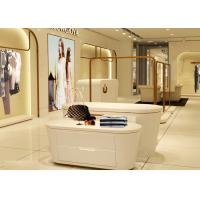 Wholesale Beautiful White Color Retail Clothing Fixtures For Lady Clothing Display from china suppliers