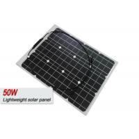 Stain Resistance Lightweight Solar Panels With ETFE Film Easy To Clean