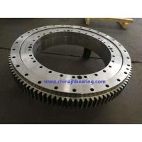China Four point contact ball 230.20.0500.503 slewing bearing with 648x434x56mm for sale
