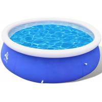 China Entertainment Inflatable Lounge Pool , Clubs Big Blue Blow Up Pool 360 X 90 Cm for sale