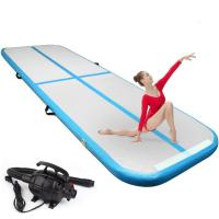 Wholesale Multi Functional Inflatable 20cm Air Floor Gymnastics Mat from china suppliers