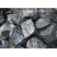 China 331 Metallurgy / Chemical grade Silicon Metal Lump or Powder 10 - 150mm on sale