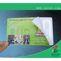 Wholesale RFID anti-fake ticket,85.6*54 or customized size from china suppliers