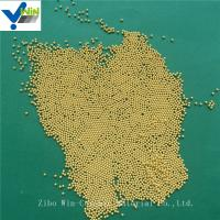 Wholesale Superfine dispersing and grinding golden cerium zirconia media for basket mill from china suppliers