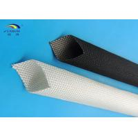 Wholesale High Temperature Resistant Thermal Wire Sleeve with Non-alkali Fiberglass Braiding from china suppliers