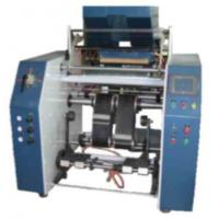 China Winding Automatic Stretch Film Rewinding Machiner , PP Food Cling Film Rewinder Machinery on sale