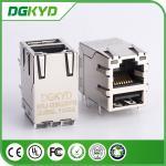 China manufacturer KRJ-007DUSBNL metal shielded USB RJ45 Connector with LED