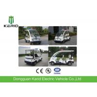 Wholesale Small Street Legal Electric Security Patrol Vehicles 4 Passengers Four Wheeler from china suppliers